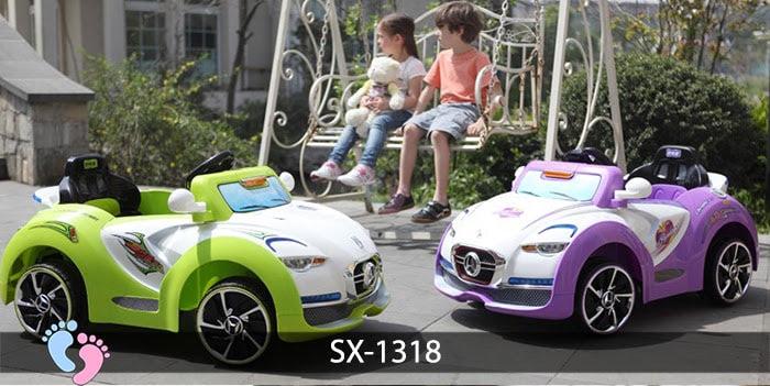 Xe oto điện trẻ em SX-1318 1