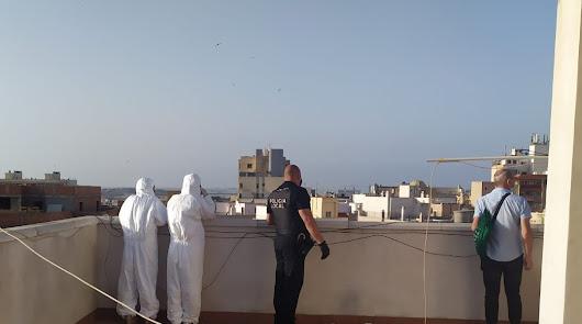 Ordenan el desalojo de 57 'okupas' en un edificio de la calle La Dalia