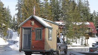 Tiny Thrifty Ski Cabin