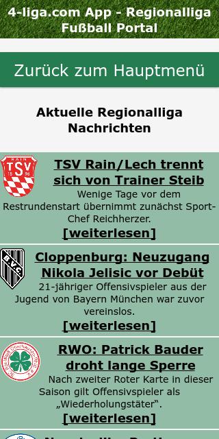 4.liga tabelle