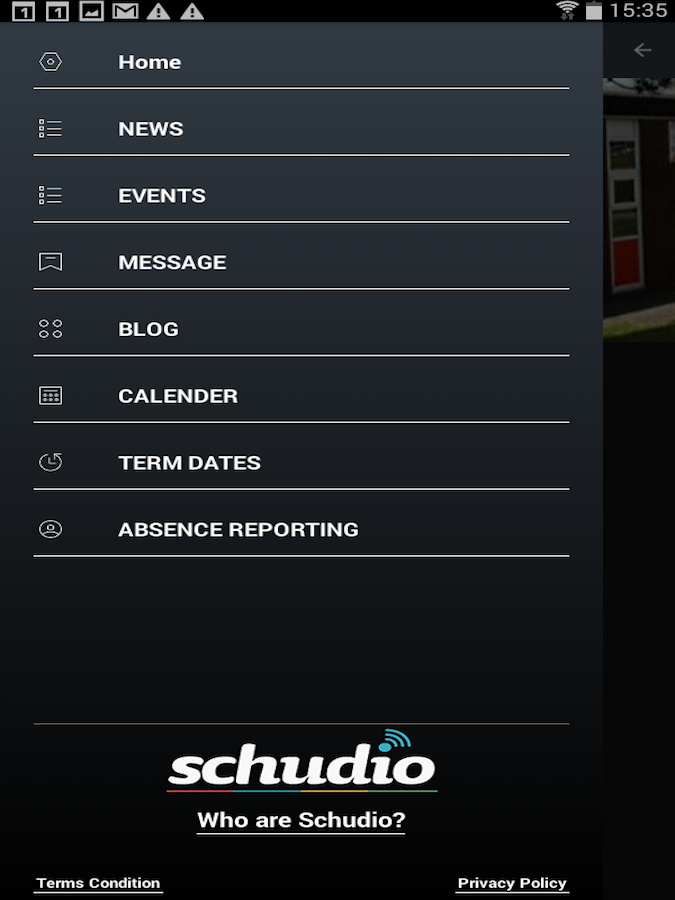 Schudio- screenshot