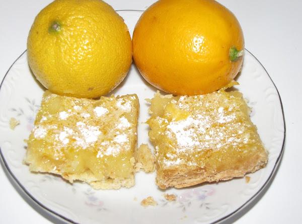 Shelia's Lemon And Lemon Bar Recipe