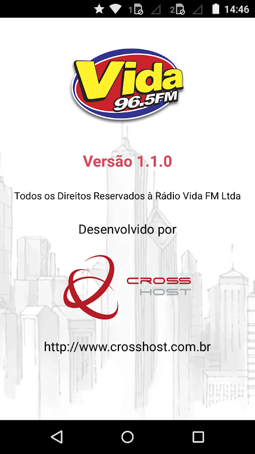 Rádio Vida FM- screenshot