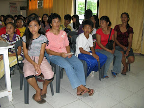 Photo: beneficiaries with parents