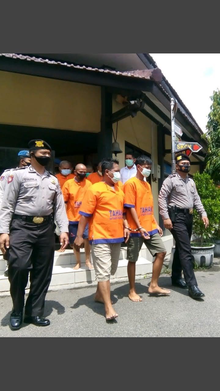 Polres Ponorogo Amankan Bandar Dan Penombok Judi Dadu