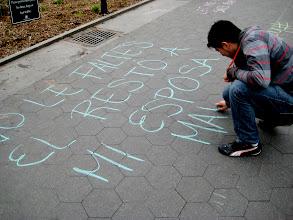 Photo: 4.13.13 NYC Rally & Chalking