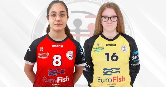 Araceli Valverde e Inés Moreno convocadas con la selección española cadete