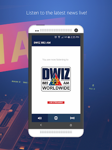 DWIZ 882 AM- screenshot thumbnail