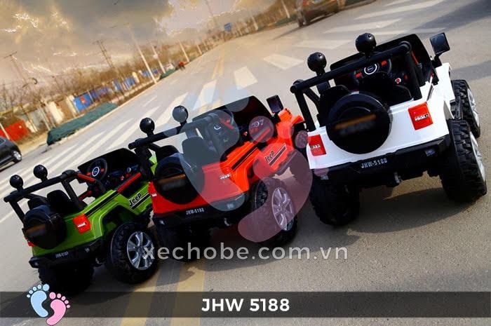 Xe ô tô điện 4 động cơ JHW5188 2