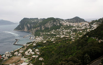 Photo: Panorama Capri mit Marina Grande