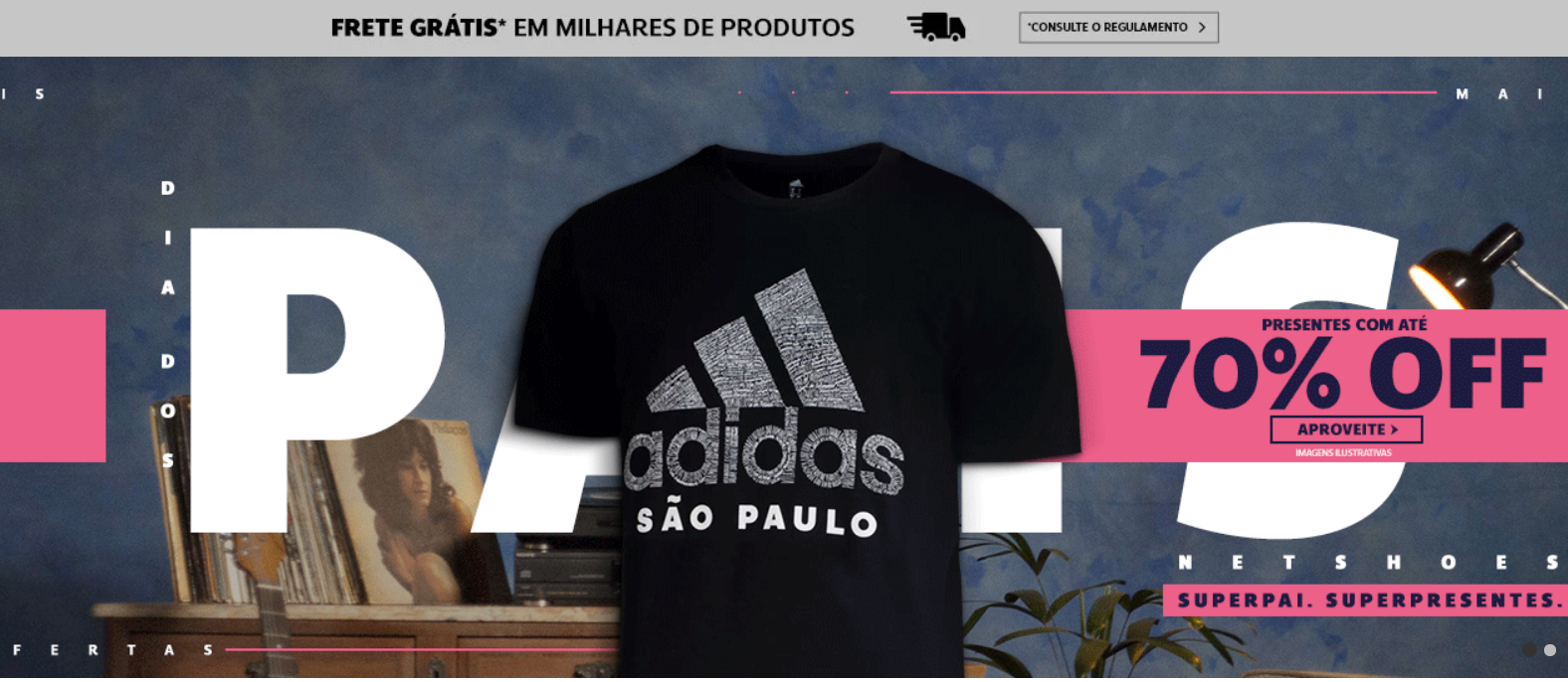 top e-commerce sites in Brazil netshoes