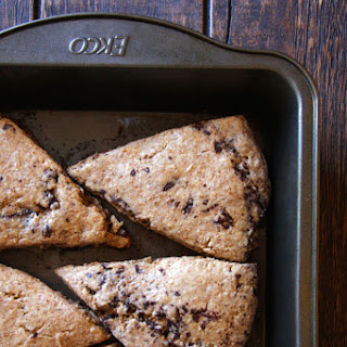Whole Wheat Chai Chocolate Chips Scones {Recipe Redux}