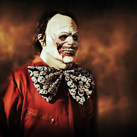 Hellraiser by Karen Carter Goforth - Public Holidays Halloween ( halloween, clown, scary, costume, monster,  )