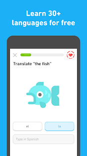 Learn English with Duolingo Screenshot