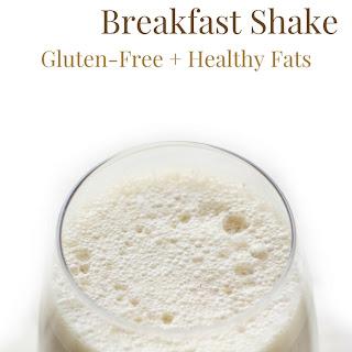 Vegan Coconut Coffee Breakfast Shake (Gluten-Free).