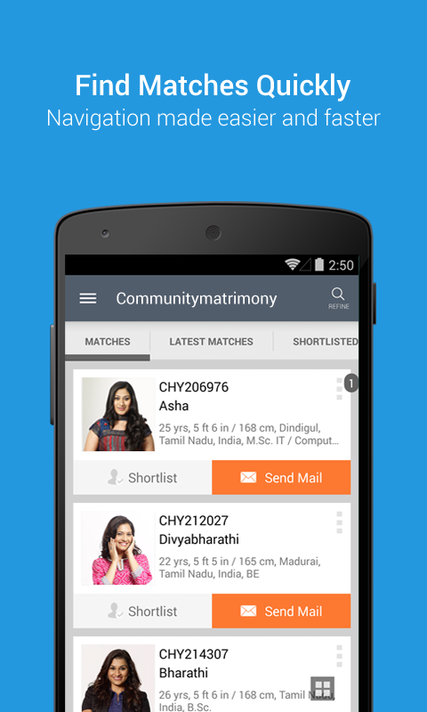 CommunityMatrimony- screenshot