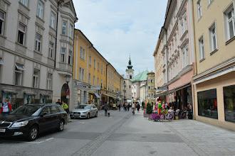 Photo: Docieram do Salzburga. Nawet wyszło słońce zza chmur :)