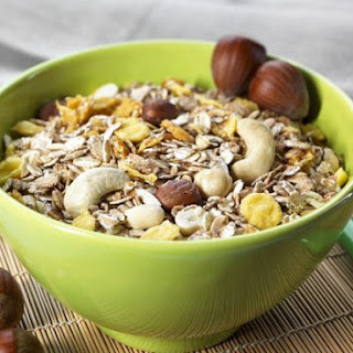 Mixed Nut Muesli.