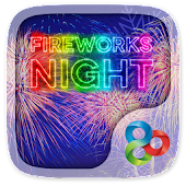 Fireworks Night GO Launcher Theme