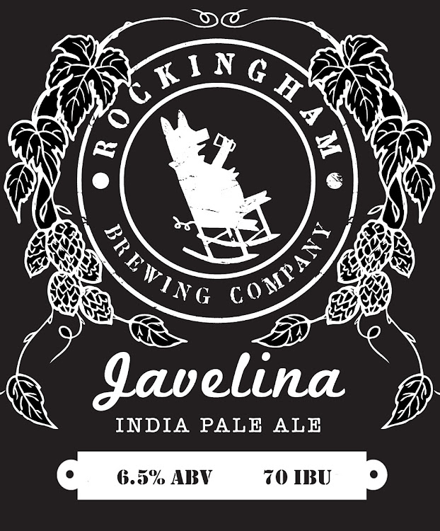 Logo of Rockingham Brewing Company Javelina
