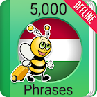 Learn Hungarian - 5000 Phrases icon