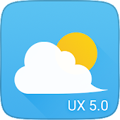 UX 5 Weather Icons for Chronus