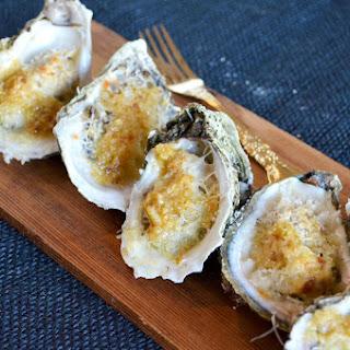 Key Lime Garlic Oysters.