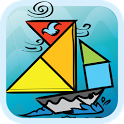 Kids Tangram Puzzles: Ships icon
