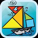 Kids Tangram Puzzles: Ships icon