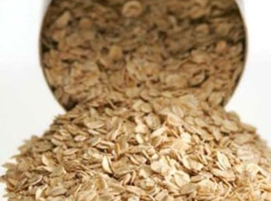 Pour boiling water over quick oats and let sit 20 minutes.  Do not...