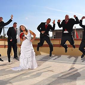 by Lisa Raith - Wedding Groups ( groomsmen, wedding, bride )