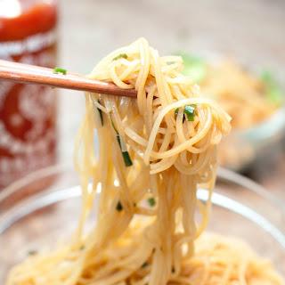 15 Minute Garlic Fried Noodles.