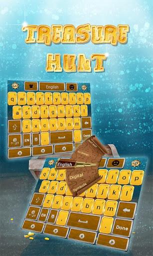 Treasure Hunt Keyboard Theme