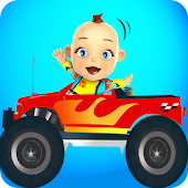 Baby Monster Truck Game – Cars