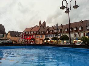 Photo: Breisach-am-Rhein, sous forte pluie