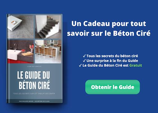 guide béton ciré