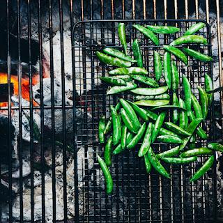 Blistered Snap Peas with Everything-Bagel Seasonings
