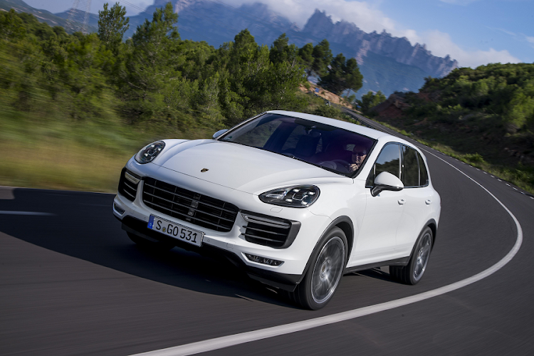 The Porsche Cayenne. Picture: PORSCHE