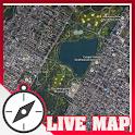 LIVE MAPS satellites Free icon