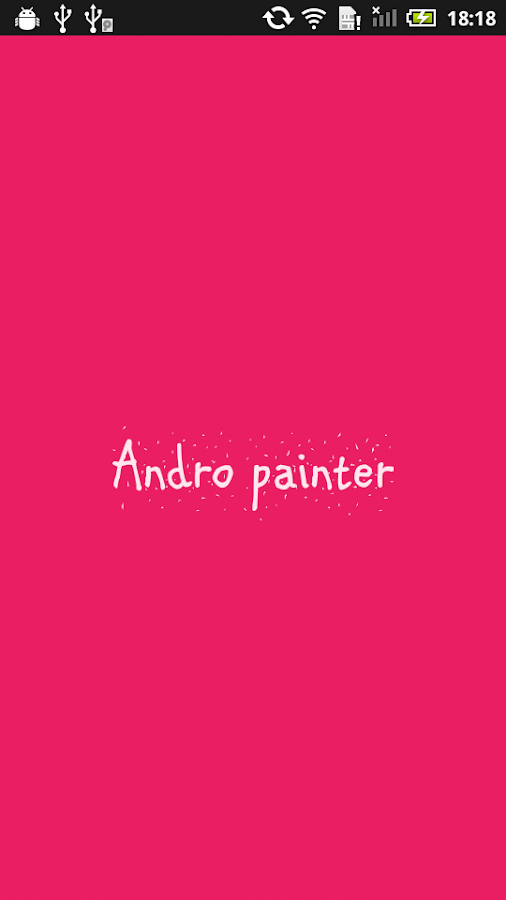 AndroPainter (Paint app)- screenshot