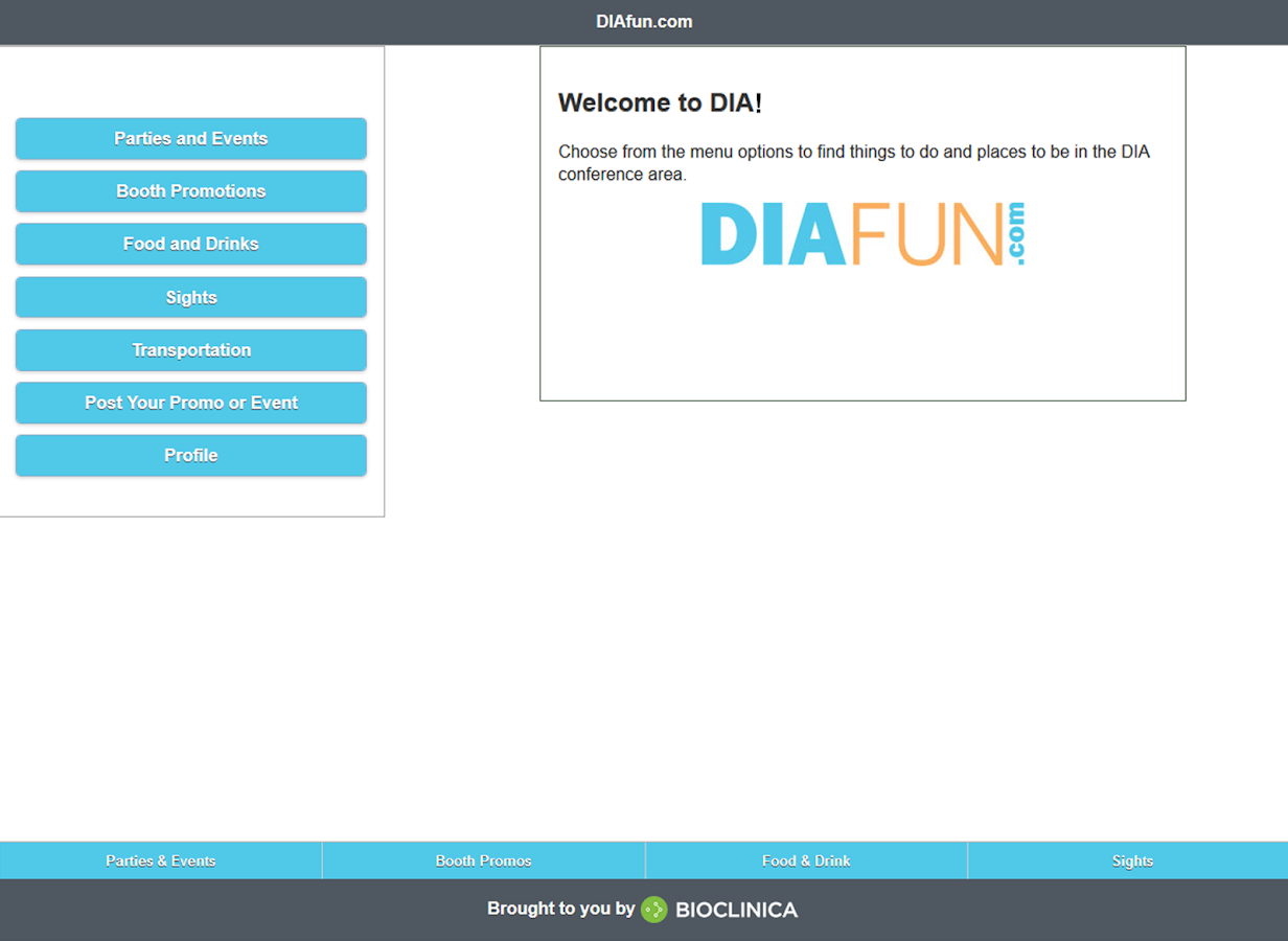DIAfun- screenshot