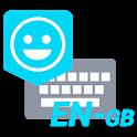 UK English Dictionary - Emoji Keyboard icon