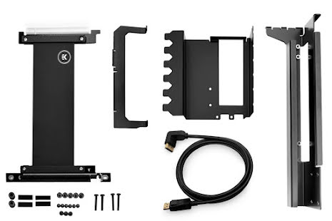 EK vertikal brakett for skjermkort EK-Loop Vertical GPU Holder – Shifted