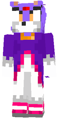 Blaze the Cat is a purple cat princess from an alternate dimension. She has been appointed as guardian of the Sol Emeralds, her dimension's version of the Chaos Emeralds, making her role similar to that of Knuckles the Echidna. She is portrayed as calm and levelheaded, hiding her true feelings. She is sometimes
