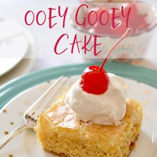 Ooey Gooey Cake.