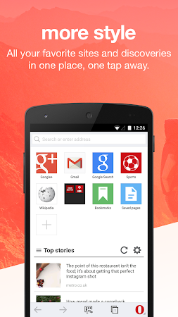 Opera Mini web browser 10.0.1884.93721 screenshot 4474