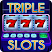 Triple 777 Deluxe Classic Slots