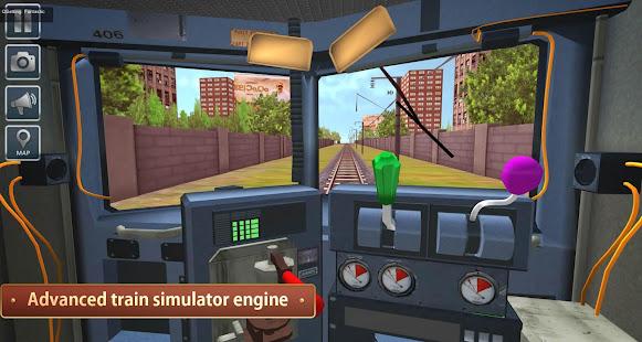 Indian Metro Train Simulator 4