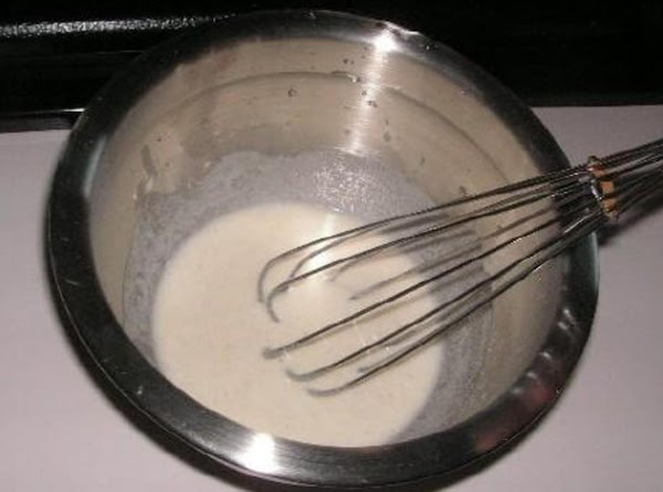 Thickening: Mix together flour and water until smooth. add into meat and sauce mixture...