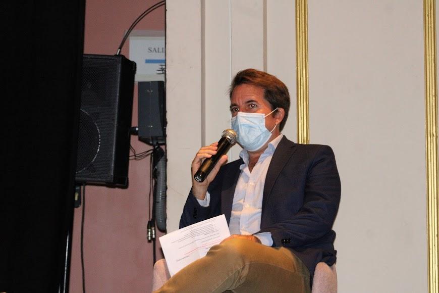 El coordinador de la ponencia, Alberto Gutiérrez.